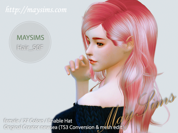 Hair50F by May Sims
