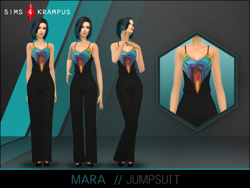 Mara Jumpsuit  BY SIms4Krampus