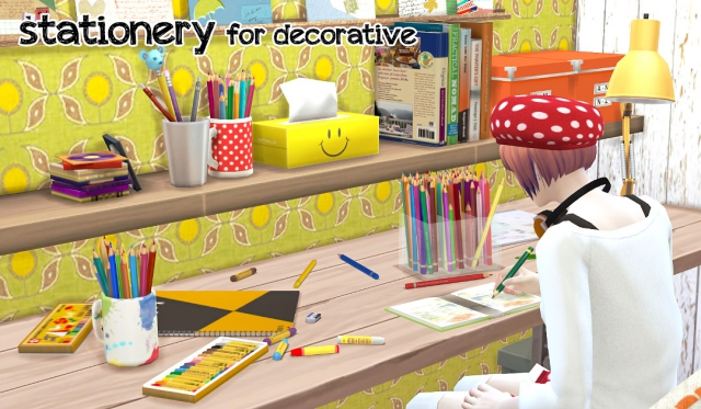 Decorative Stationery Set by Imadako