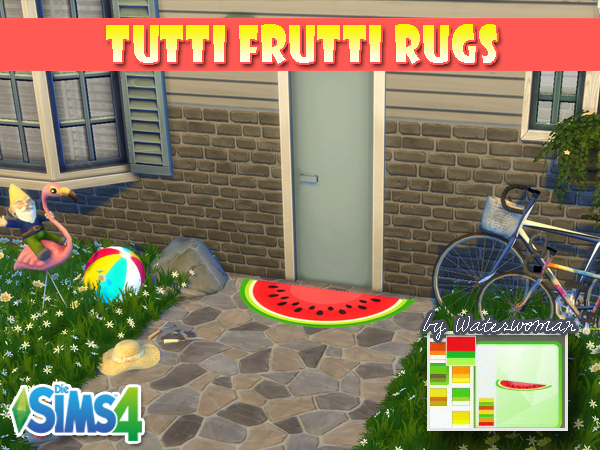 Tutti Frutti Rugs by Waterwoman