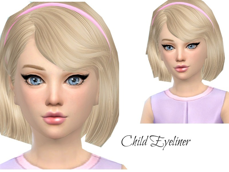 Child Eyeliner  BY Queen BeeXxx21