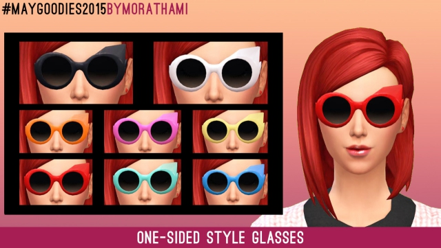 Glasses Frenzy - One-sided Style Glasses by MoraThami