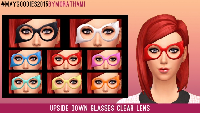 Glasses Frenzy - Upside Down Glasses by MoraThami