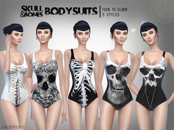 Skull&Bones Bodysuits by Callie V