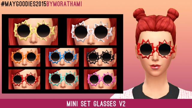 Glasses Frenzy - Mini Set Glasses V2 by MoraThami