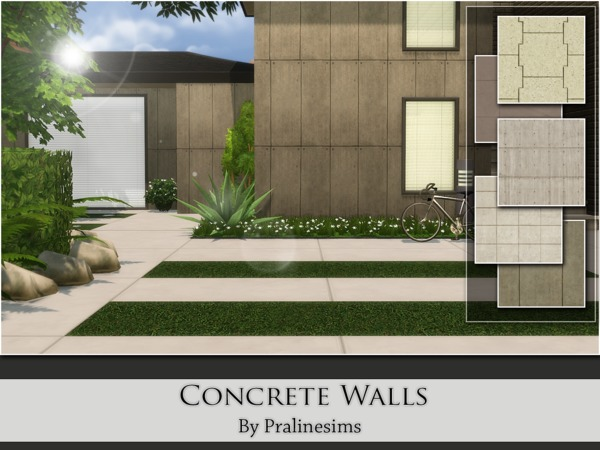 Concrete Walls by Pralinesims