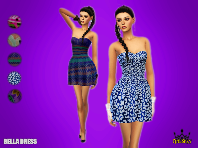 Bella Dress by Niteskkysims