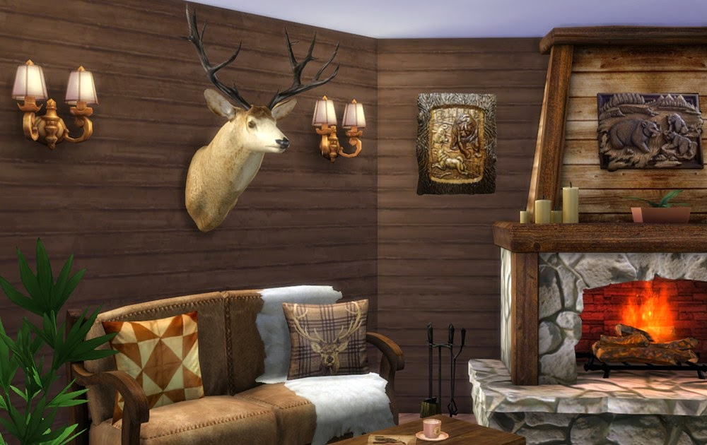 Wall decor deer head by natatanec
