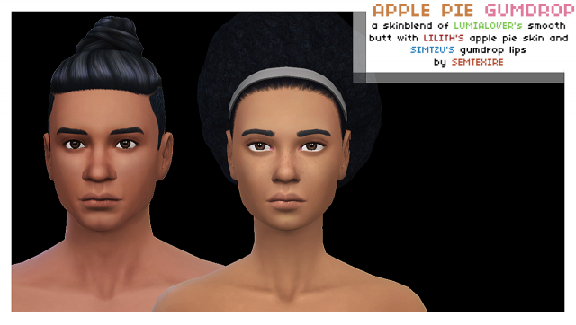 Apple Pie Gumdrop Skin by Semtexire