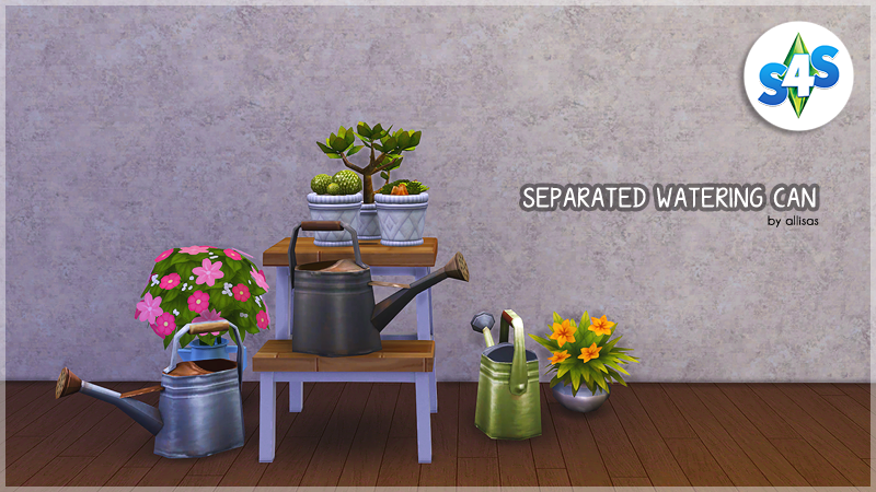 Watering Can - Separated by Allisas
