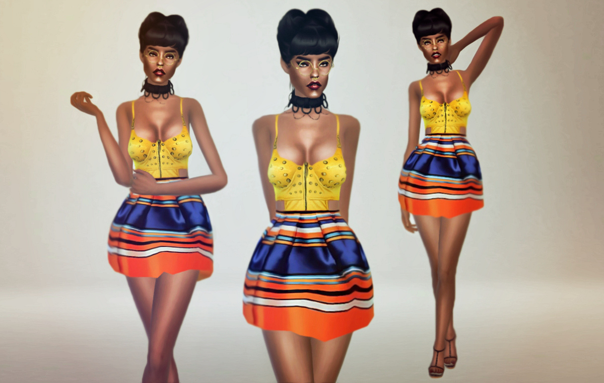 Kiki by Fashion Royalty Sims