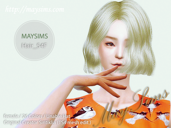 Hair54F by May Sims