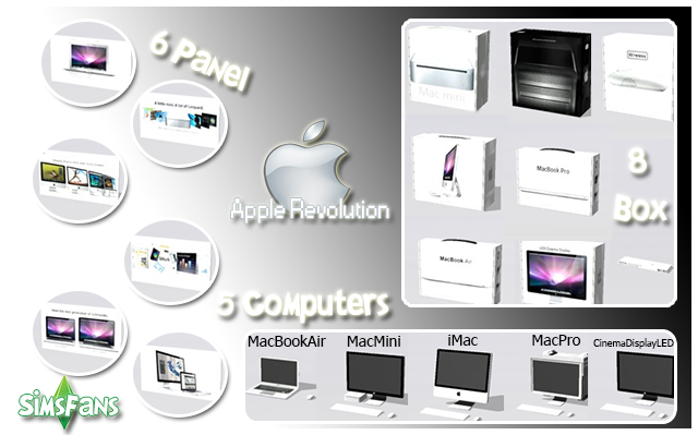 TS2 Apple Revolution Conversions by Marco13