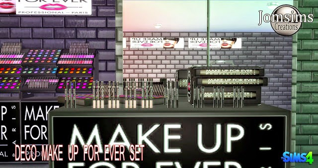 Deco Make Up Forever by JomSims