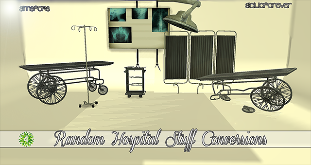 Random Hospital Stuff Conversions by Siciliaforever