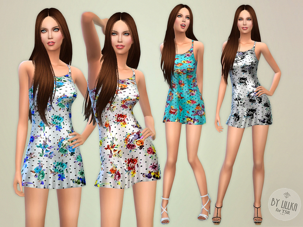 Leisure Floral Dress by lillka