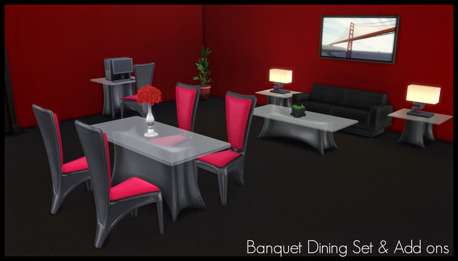 TS2 to TS4 - Banquet Dining Set & Add Ons by Elias943