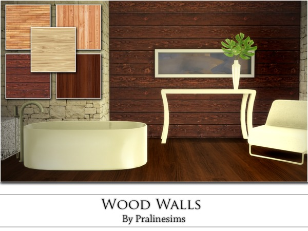 Wood Walls by Pralinesims