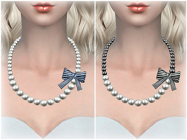 S-Club LL ts4 necklace N04