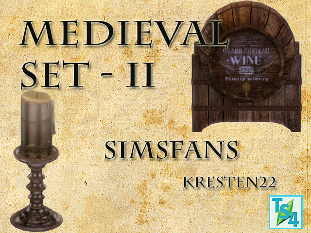 Medieval Set II - 19 Objects by Kresten 22