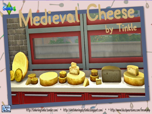 Medieval Cheese by Tinkle