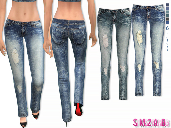 47 - Female skinny jeans by sims2fanbg