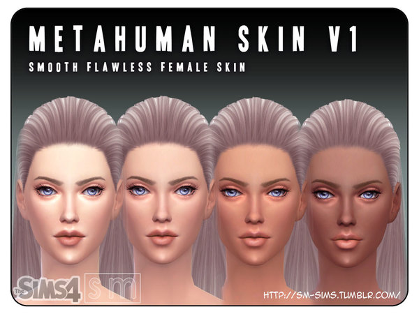 [ Metahuman ] - V1 Female Skin by Screaming Mustard