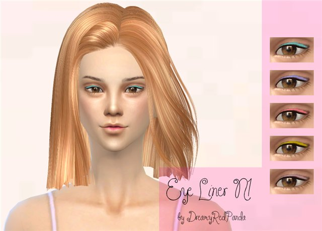 Eyeliner for TS4 by DreamyRedPanda