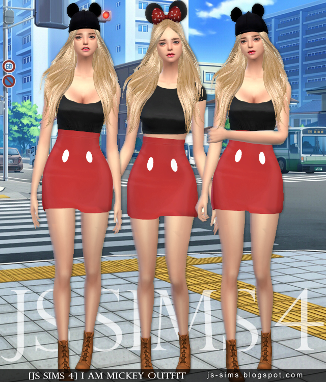 I Am Mickey Outfit от JS SIMS 4