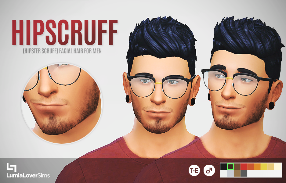 Hipscruff Facial Hair For Men by LumiaLover