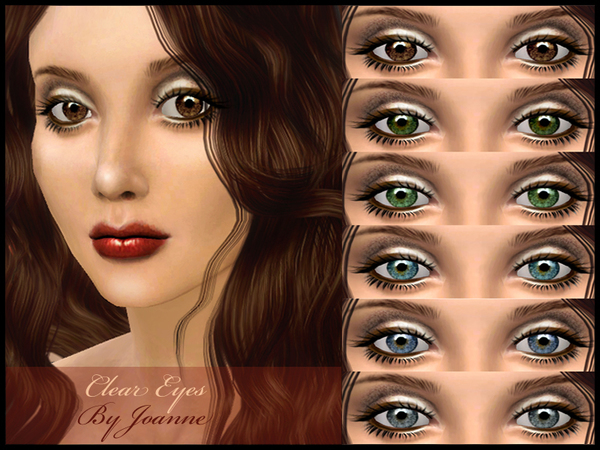 Clear Light Eyeset by joannebernice