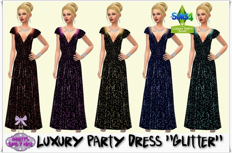 "Luxury Party Dress ""Glitter"" by Annett85"