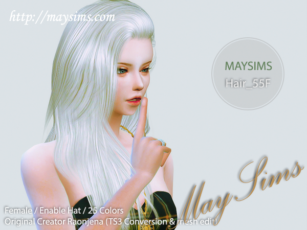 Hair55F by May Sims