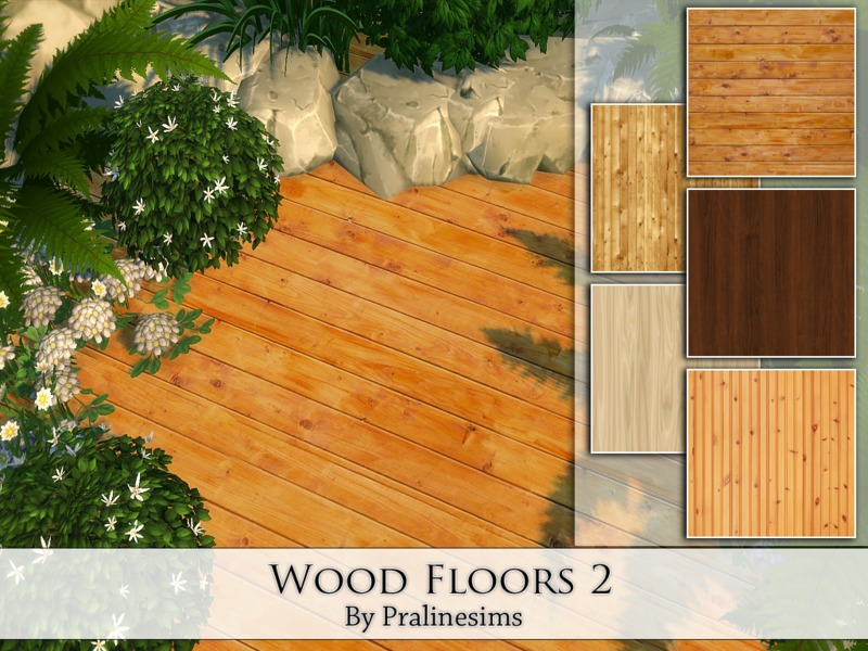 Wood Floors 2 BY Pralinesims