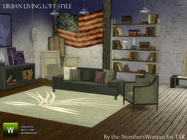 Urban Loft Living by TheNumbersWoman