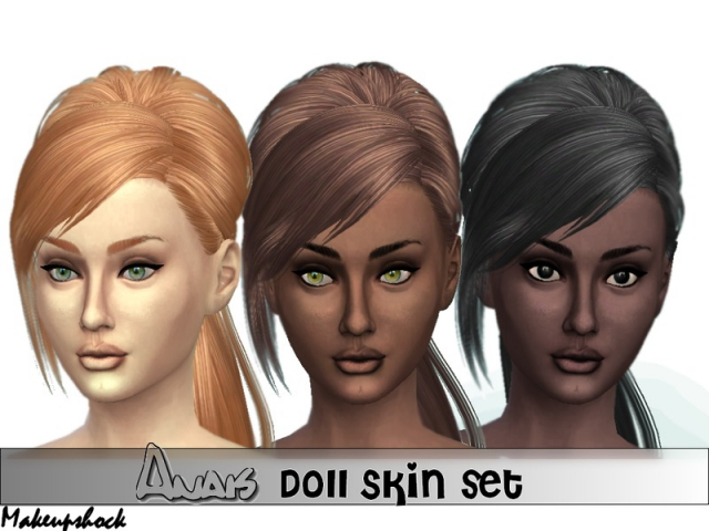 Anais Doll Skin Set by Makeupshock