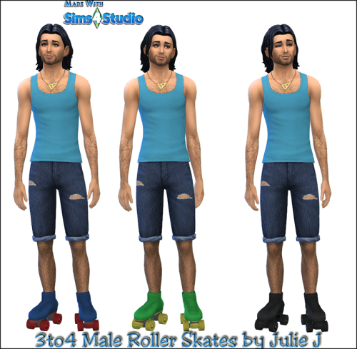 Roller Skates for Males by JulieJ