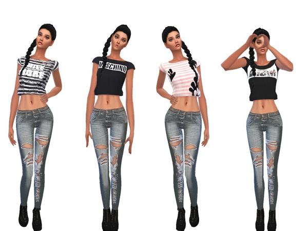 fashion_cropped_Top_Set by sweetsims4