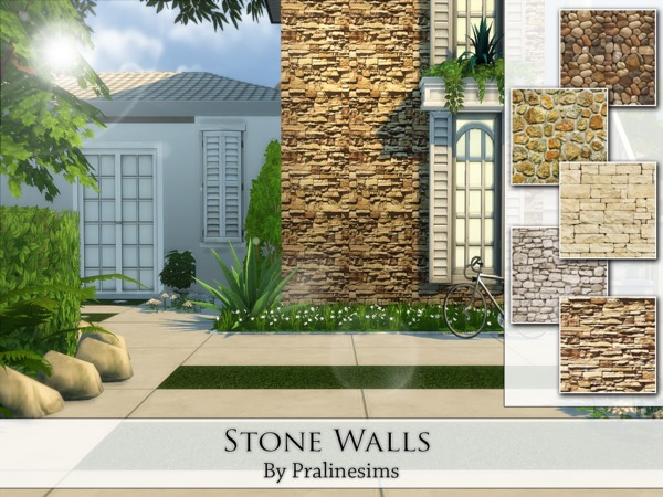 Stone Walls by Pralinesims