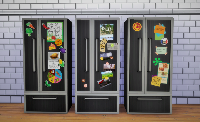 Sticker Fridge 2.0 by Budgie2budgie
