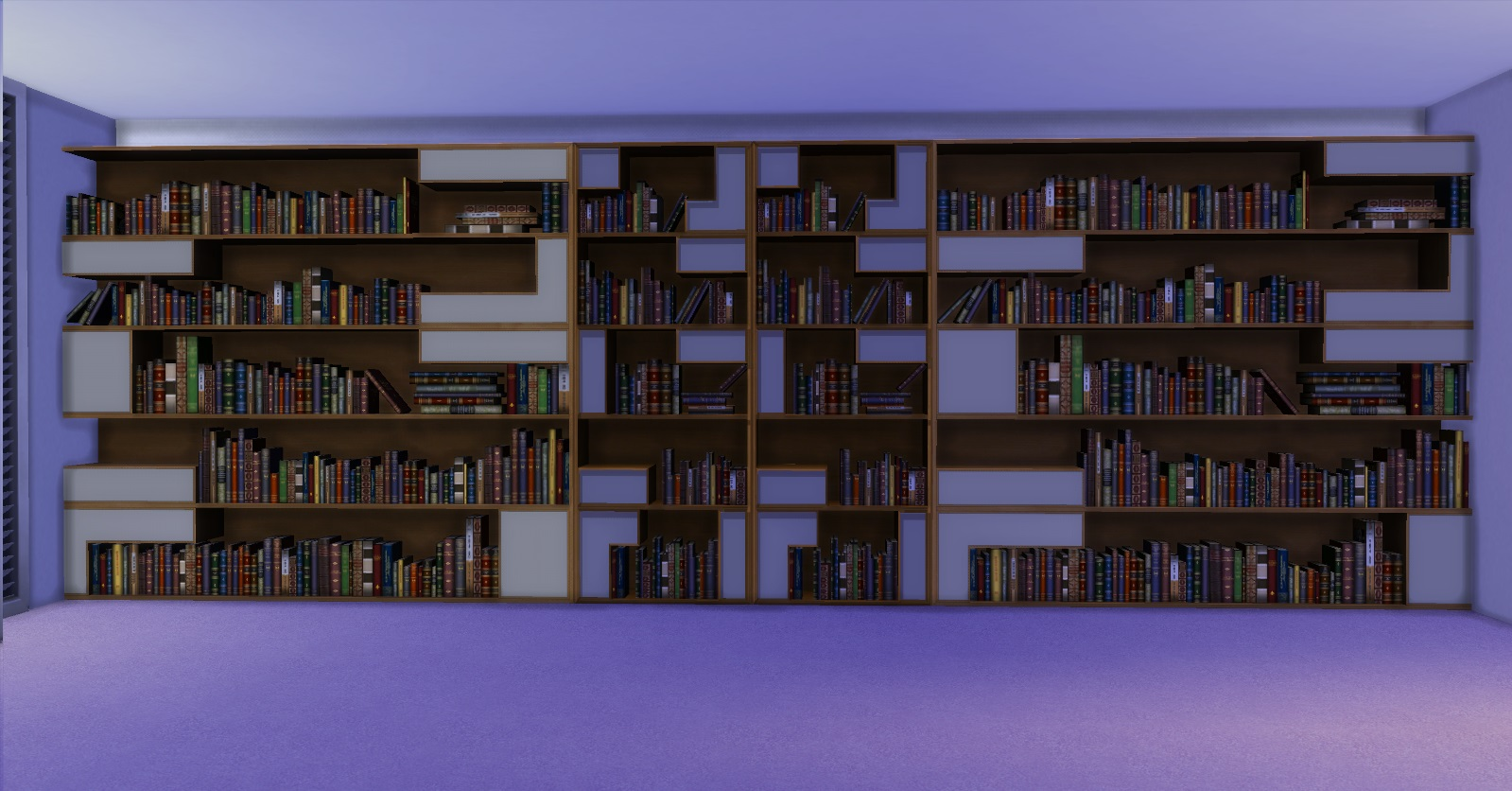 Poetic Bookshelf by AdonisPluto