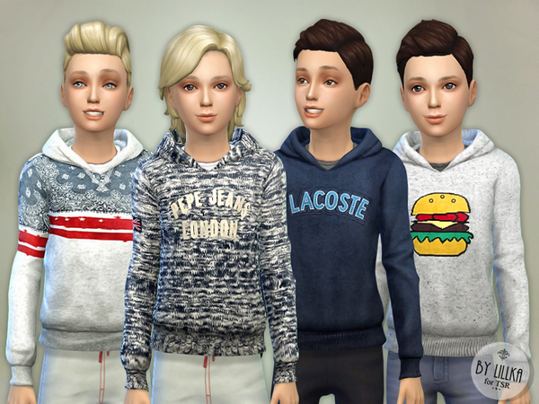 Hoodie for Boys P02 by lillka