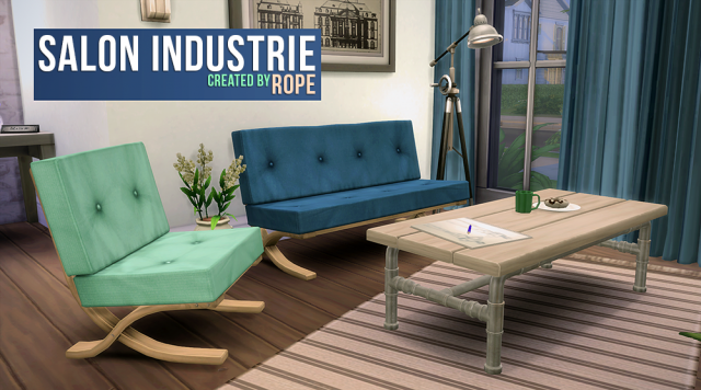 Industry Exhibition Living Set by Rope