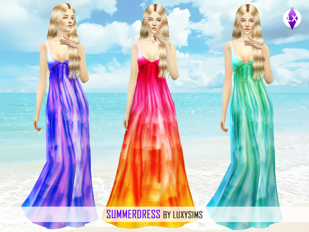 Summer Dress by Luxy Sims