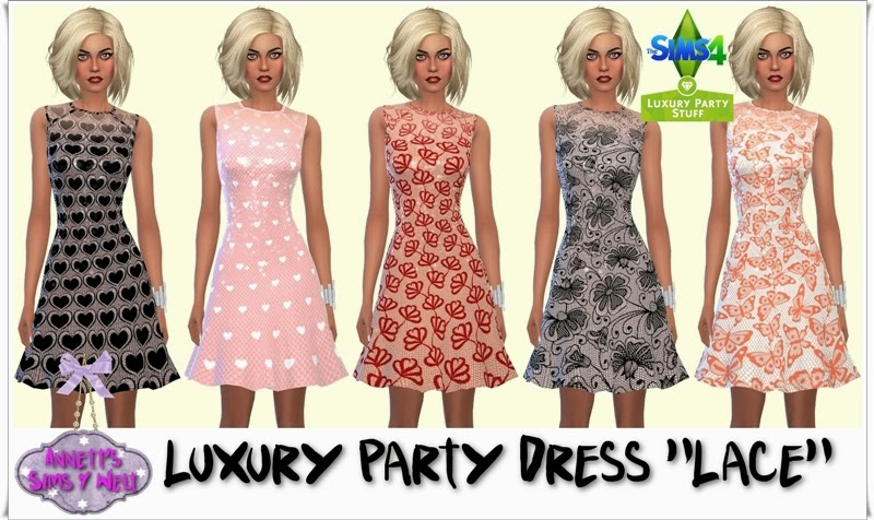 "Luxury Party Dress ""Lace"" by Annett85"