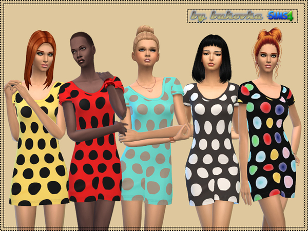 Dress Large Peas by bukovka