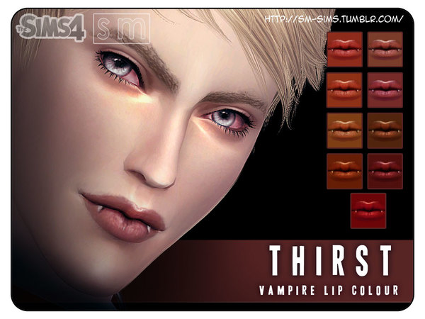 [ Thirst ] - Vampire Lip Colour by Screaming Mustard
