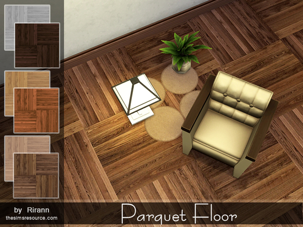Parquet Floor by Rirann