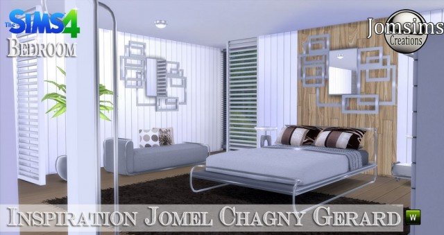 Inspiration jomel chagny gerard chambre by JomSims
