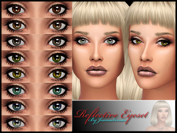 Reflective Eye Set by joannebernice